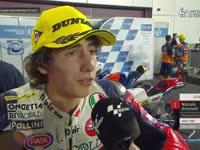 Moto3卡塔尔站正赛后采访 Antonelli生病锁骨受伤仍夺冠
