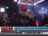 NFL选秀大会第29顺位 罗伯特-肯姆迪切 (红雀)