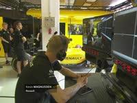 F1匈牙利站FP1:奥康接替马格努森出战