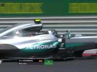 F1匈牙利站FP3:罗斯伯格几乎冲出白线
