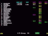 F1德国站FP3全场回顾(数据)