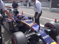F1德国站排位赛Q1科维亚特淘汰:队友怎么进的??