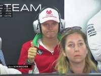 F1德国站排位赛Q3:少爷梅赛德斯P房观战