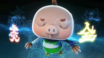 猪猪侠11之光明守卫者31(下部第05集)唤醒!石巨人