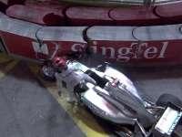 2011年新加坡站官方集锦 舒马赫追尾引发安全车