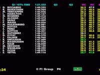 F1新加坡站排位赛(数据)全场回放
