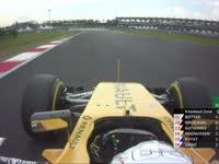 F1马来西亚站排位赛Q2停表:巴顿杀进前八!