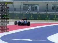 F1美国站FP2:奥康冲进砂石区跑拉力