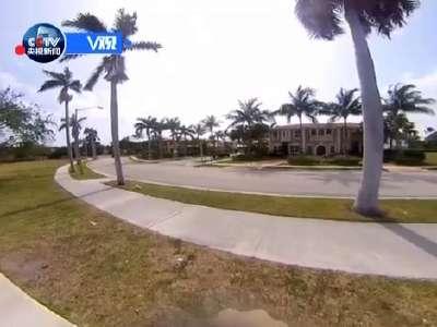 [视频]360度全景远眺海湖庄园外景