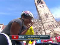 1小时28分18 女子轮椅选手破波马赛事记录