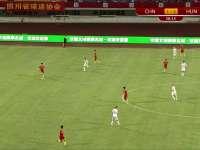【片段】中国队前场精彩脚后跟配合 陶强龙一脚劲射太正