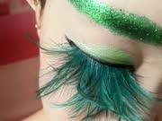 女孩自学妖精妆,前方高能,不忍直视