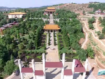 【绿色发展 绿色生活】农耕图腾——神农文化广场