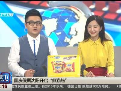 """[视频]国庆假期沈阳开启""""熊猫热"""""""