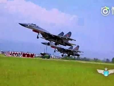 [视频]这就是中国空军!