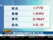 美元对其他主要货币汇率17日上涨