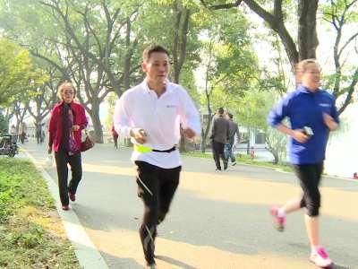 """""""益起行,健步点亮未来""""健康走活动在长沙举行"""