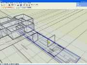 草图大师基础视频教程- 创建别墅首层的墙体