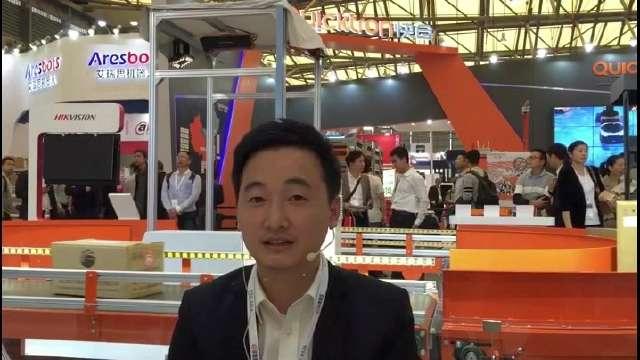 CeMAT2017:访杭州海康机器人销售总监 傅高翔先生-01
