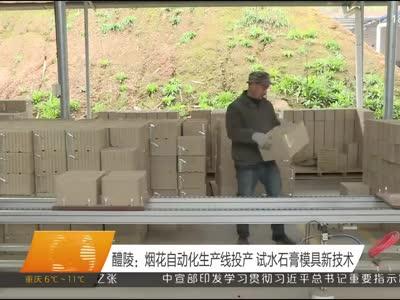 醴陵:烟花自动化生产线投产 试水石膏模具新技术