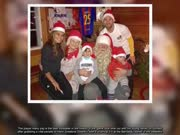 梅西怎么过圣诞?带着老婆和俩孩子见了圣诞老人