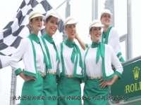 F1澳大利亚站举牌女郎制服曝光 上演传统服饰诱惑