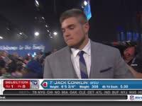 NFL选秀大会第8顺位 杰克-孔克林 (泰坦)