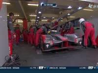 勒芒24小时耐力赛:领先的奥迪7号推进去了