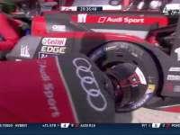 勒芒24小时耐力赛:奥迪8号车第一次进站
