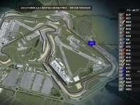 F1英国站FP3全场回顾(GPS追踪)