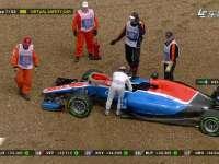 F1英国站正赛:维尔莱茵滑出赛道退赛
