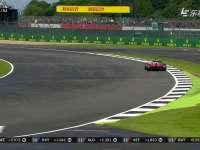 F1英国站正赛:维特尔打滑吃草