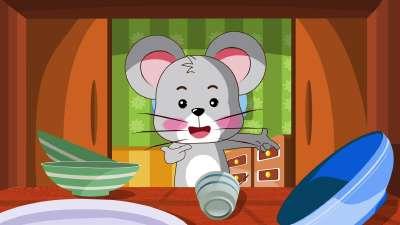 贝乐虎儿歌009小老鼠上灯台