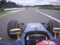 F1德国站FP2:纳斯尔一号弯冲出赛道