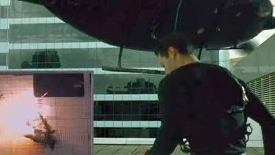 黑客帝国 终极收藏版蓝光花絮之Helicopter Crash