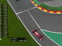 F1比利时站FP2:维特尔TR报告轮胎抖动严重需要进站