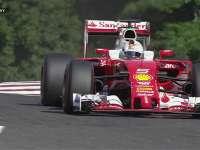F1比利时站FP3:维特尔被挡气得直爆粗口