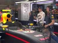 F1比利时站排位赛:维斯塔潘技师一刻不停修赛车