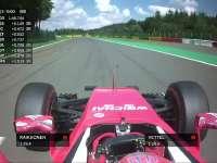F1比利时站排位赛Q3冲线:莱科宁最后时刻上的第三