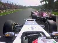 F1意大利站经典:2012年佩雷兹花式超越法拉利