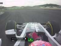 有毒!F1马来西亚站排位赛Q1:格罗斯让后视镜跑丢啦