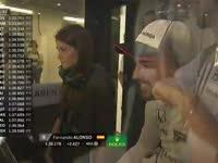 呆萌!F1日本站FP1:头头哥在玻璃房子里傻笑