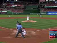MLB季后赛 洛杉矶道奇vs华盛顿国民 全场录播(英文)