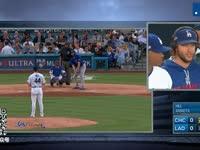 MLB季后赛 芝加哥小熊vs洛杉矶道奇G3 全场录播(中文)