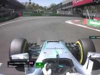 F1墨西哥站排位赛Q2:汉密尔顿报告被挡