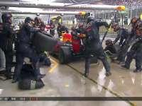 F1巴西站正赛:里卡多停站换上半雨胎