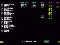 F1阿布扎比站FP3全场回放(数据)