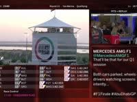 F1阿布扎比站排位赛全场回放(维修站)