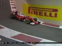 F1阿布扎比站正赛:莱科宁二停出站被里卡多超越