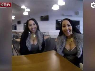 """[视频]澳孪生姐妹花""""共享""""男友 誓要共同怀孕"""